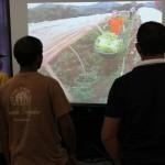 Apresentação de um vídeo sobre cultivo em túnel