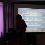Explanação sobre os resultados das análises de água e solo das hortas